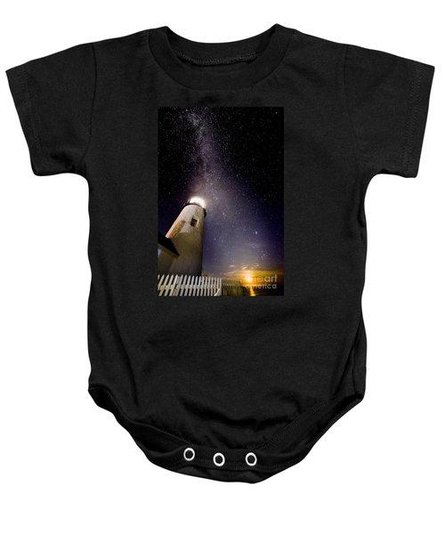 Pemaquid Point Lighthouse Baby Onesie
