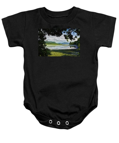 Perfectly Framed Baby Onesie