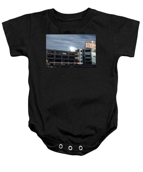 Philadelphia Urban Landscape - 1195 Baby Onesie