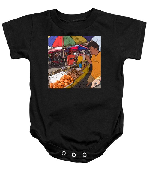 Philippines 1299 Street Food Baby Onesie