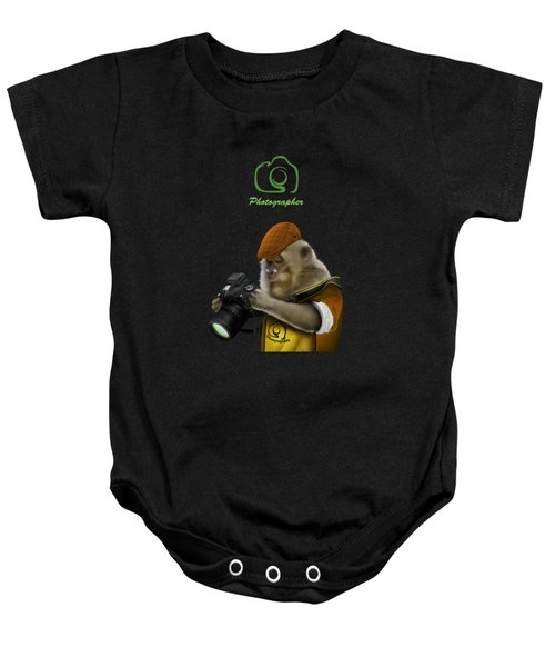 Photography Is Language That Can Be Understood Baby Onesie