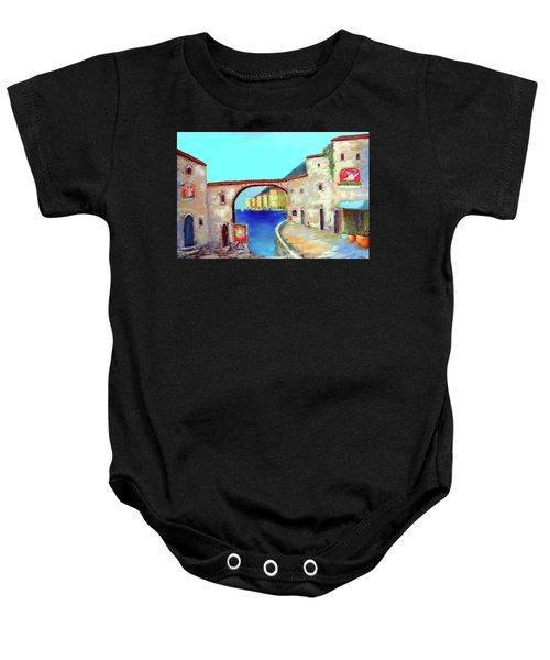 Piazza Del La Artista Baby Onesie