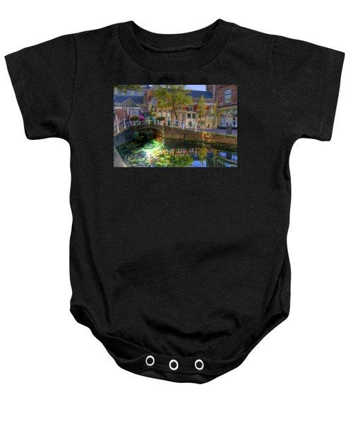 Picturesque Delft Baby Onesie