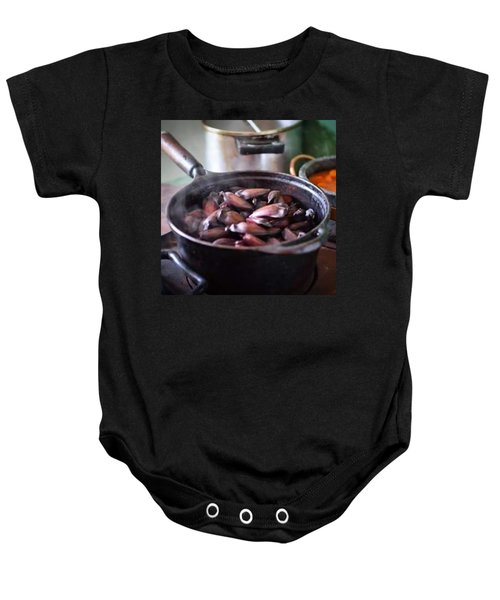 Pine Nut For Breakfast In Cunha City Baby Onesie