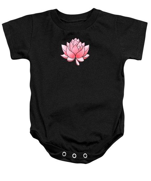 Pink Blossom Baby Onesie