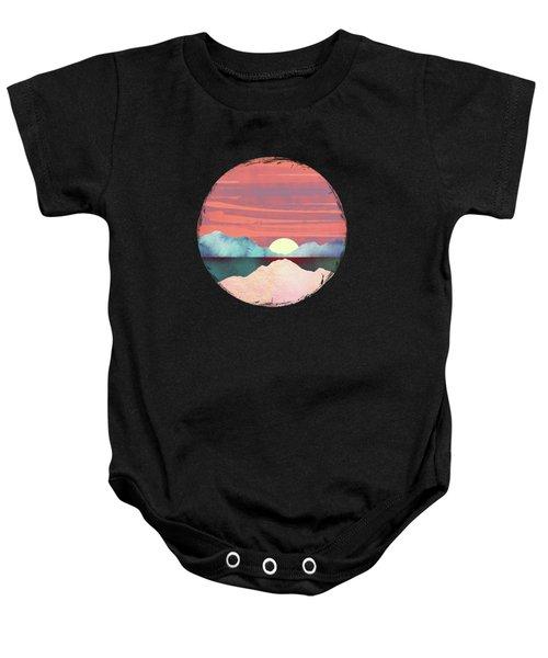 Pink Oasis Baby Onesie