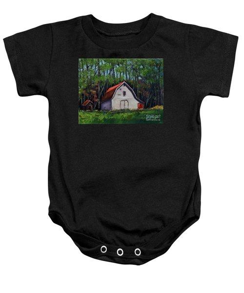 Pinson Barn At Harrison Park Baby Onesie