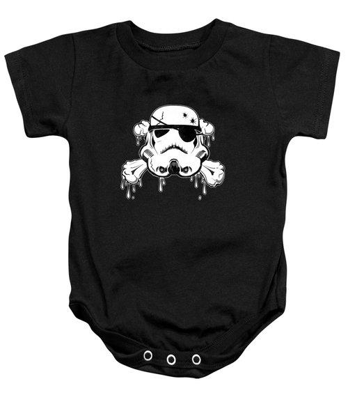 Pirate Trooper Baby Onesie