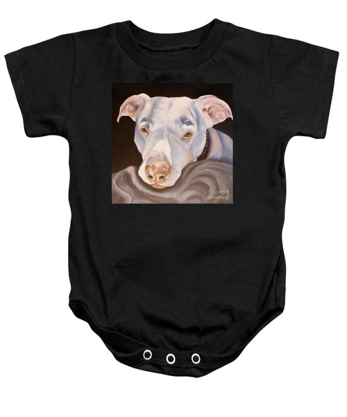 Pit Bull Lover Baby Onesie