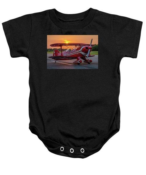 Pitts Sunset Baby Onesie