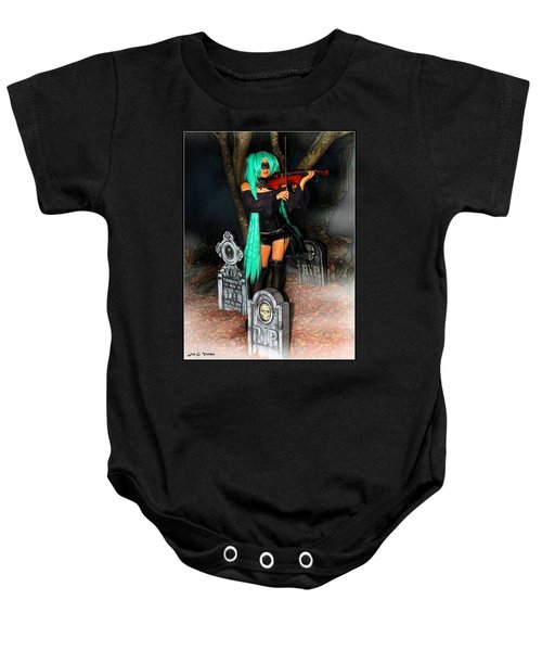 Play For The Dead Baby Onesie
