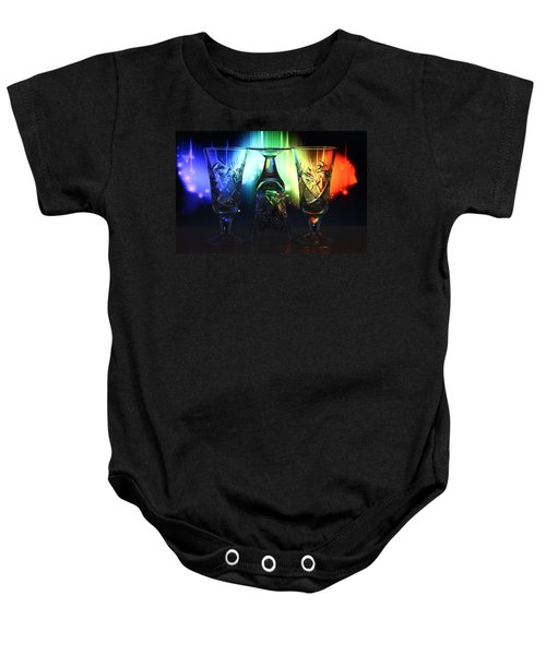 Play Of Glass And Colors Baby Onesie