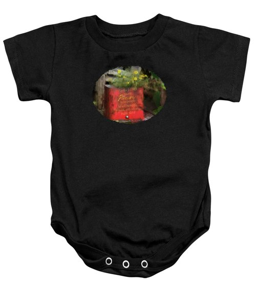 Pleasure Chest - Verse Baby Onesie