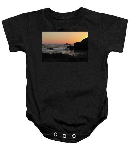 Point Lobos Sunset Baby Onesie