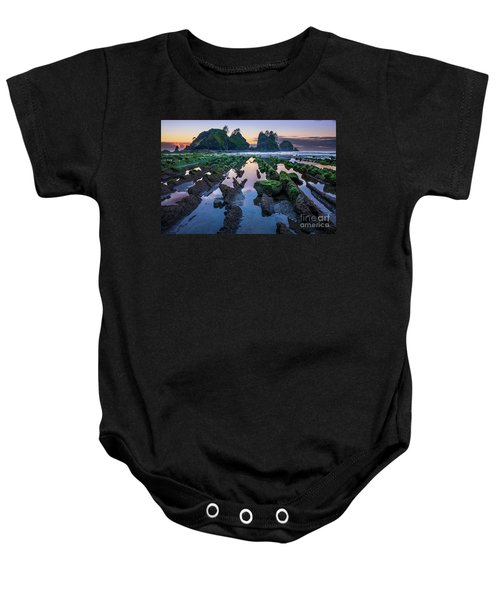 Point Of The Arches Baby Onesie