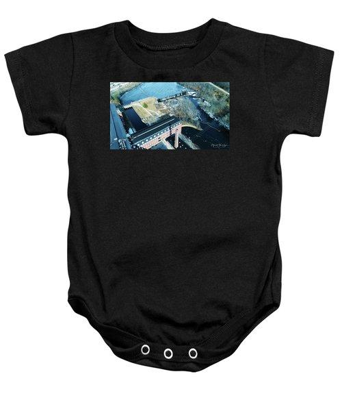 Ponemah Mill And Dam Baby Onesie