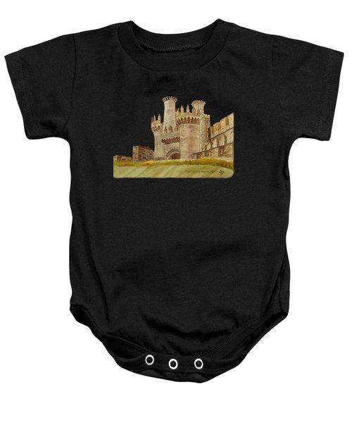 Ponferrada Templar Castle  Baby Onesie