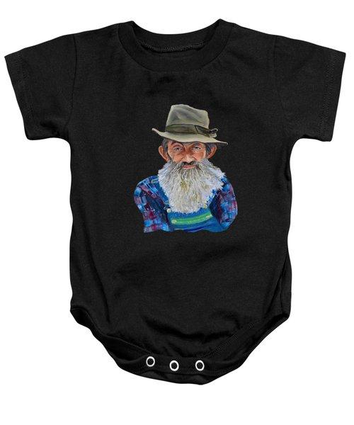 Popcorn Sutton Rocket Fuel- Transparent For T-shirt Baby Onesie