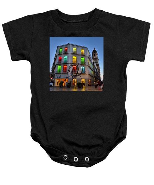 Por Las Calles Del Centro Historico De Baby Onesie