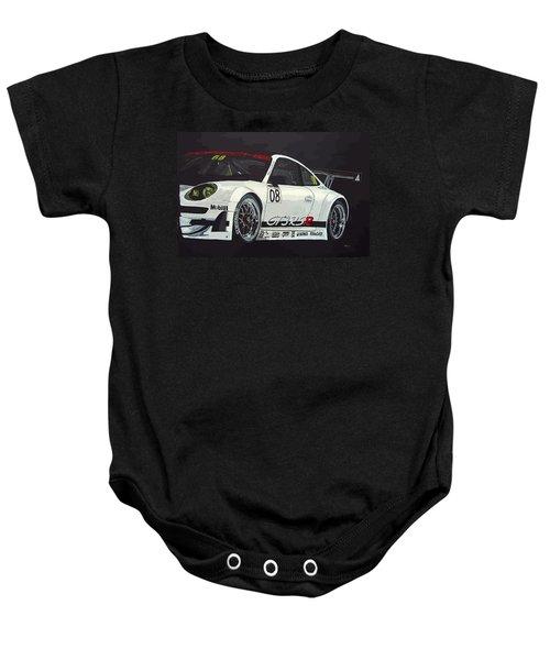 Porsche Gt3 Rsr Baby Onesie