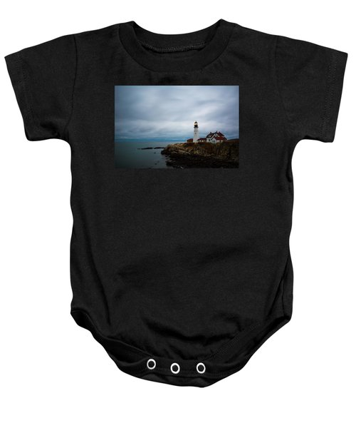Portland Head Light 2 Baby Onesie