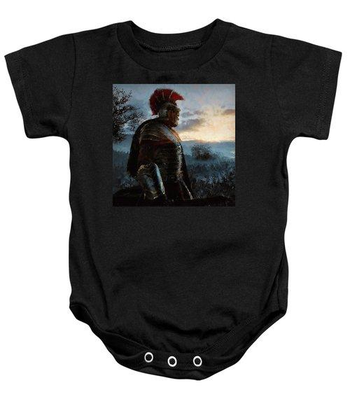 Portrait Of A Roman Legionary - 34 Baby Onesie