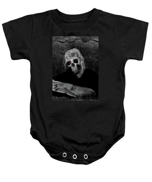 Portrait Of A Zombie Baby Onesie
