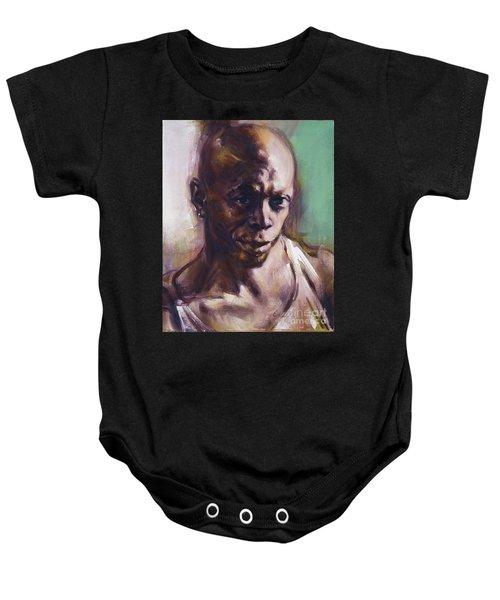 Portrait Of Don Pullen Baby Onesie