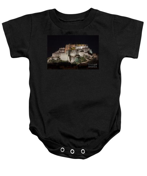 Potala Palace At Night Baby Onesie