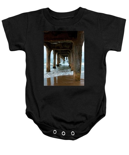 Pounded Pier Baby Onesie
