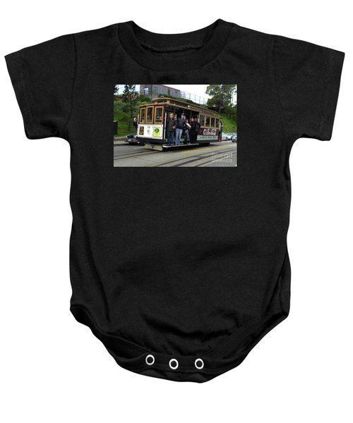 Powell And Market Street Trolley Baby Onesie