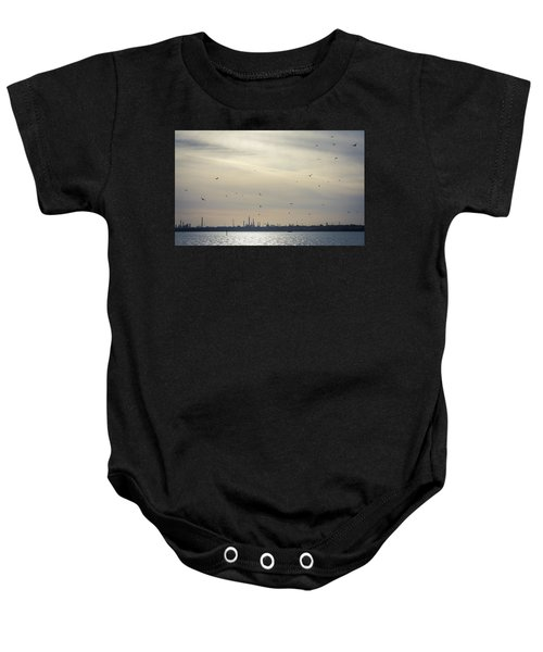 Power By The Sea Baby Onesie