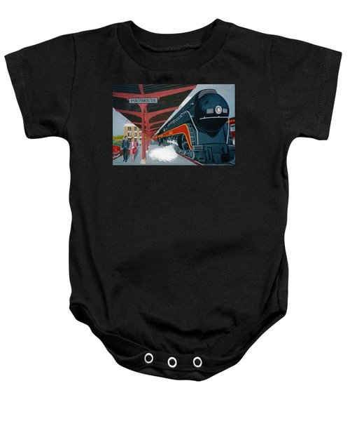 Powhatan Arrow At Portsmouth Baby Onesie