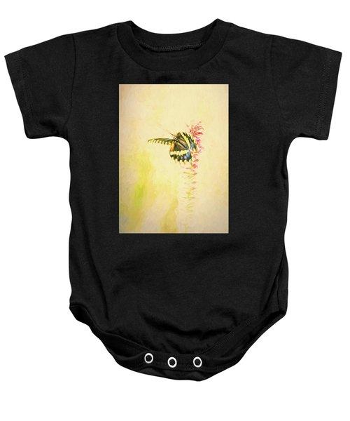 Prairie Butterfly 3 Baby Onesie