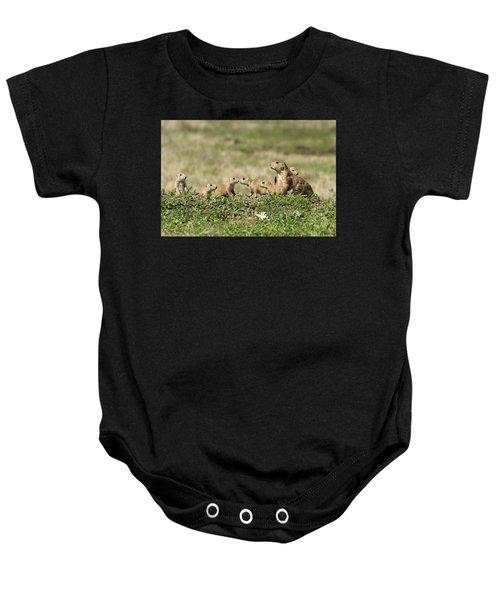 Prairie Dog Family 7270 Baby Onesie