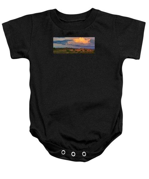 Prairie Skies Baby Onesie