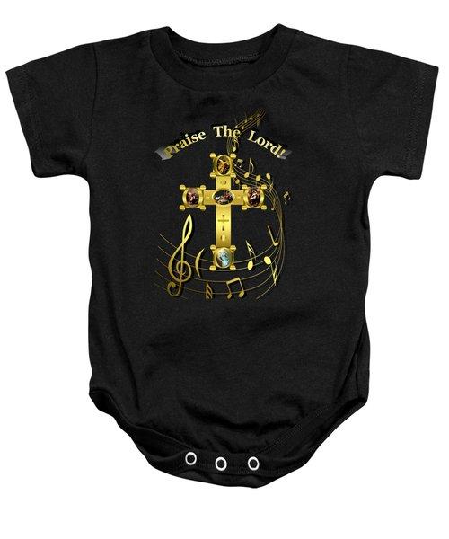 Praise The Lord Baby Onesie