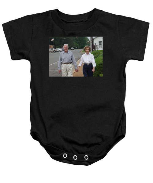 President And Mrs. Jimmy Carter Baby Onesie