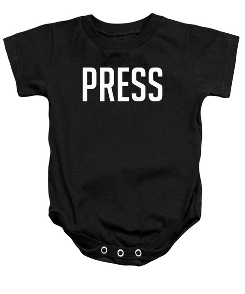 Press Tee Baby Onesie by Edward Fielding