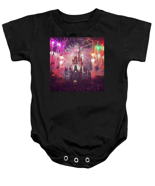 The Happiest Place On Earth  Baby Onesie