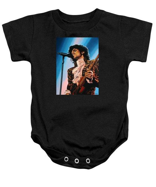 Prince Painting Baby Onesie