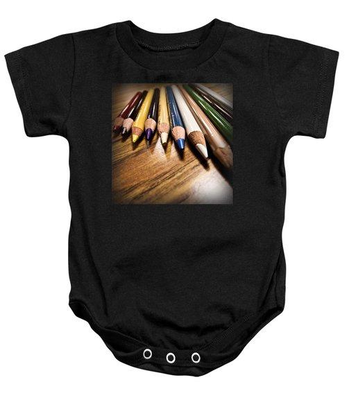 Prismacolor Pencils Baby Onesie