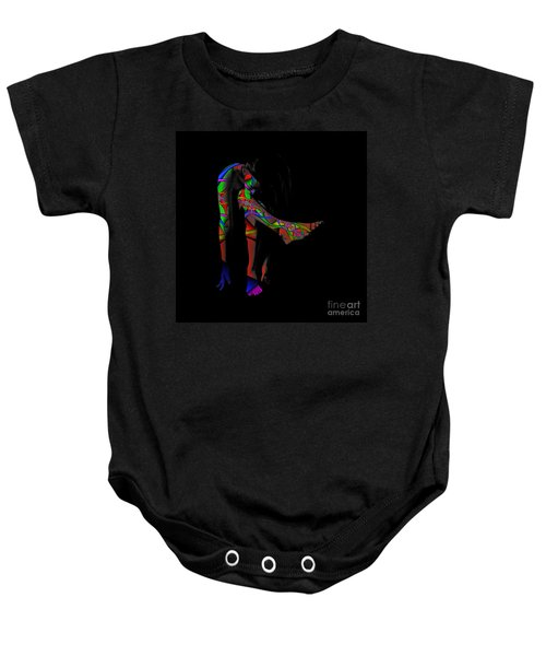 Projected Body Paint 2094973a Baby Onesie