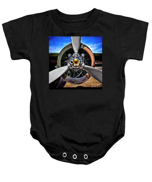 Propeller Art   Baby Onesie