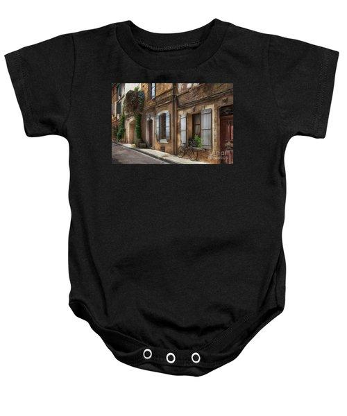 Provence Street Scene Baby Onesie