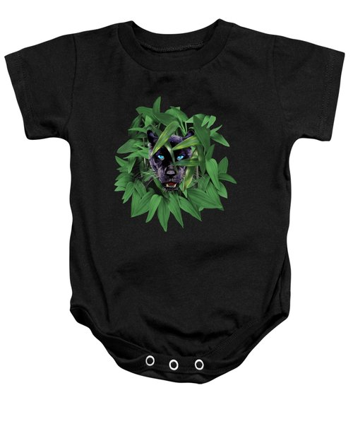 Prowling Panther Baby Onesie