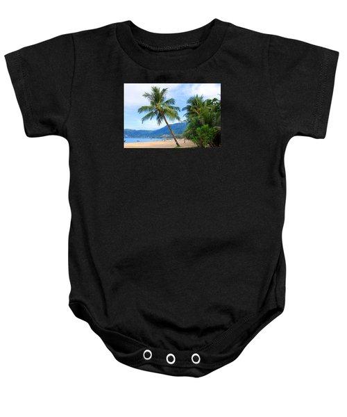 Phuket Patong Beach Baby Onesie