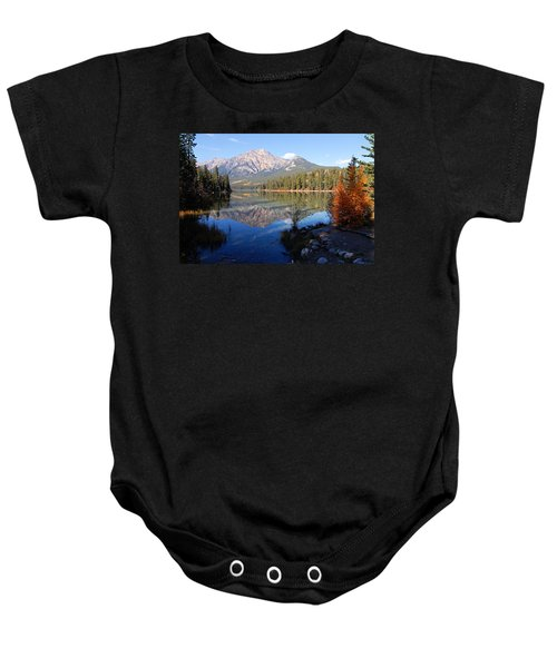Pyramid Moutain Reflection Baby Onesie
