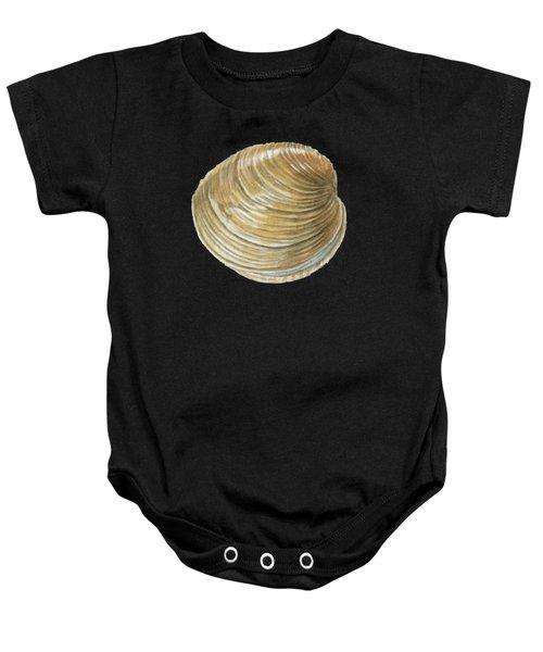 Quahog Shell Baby Onesie