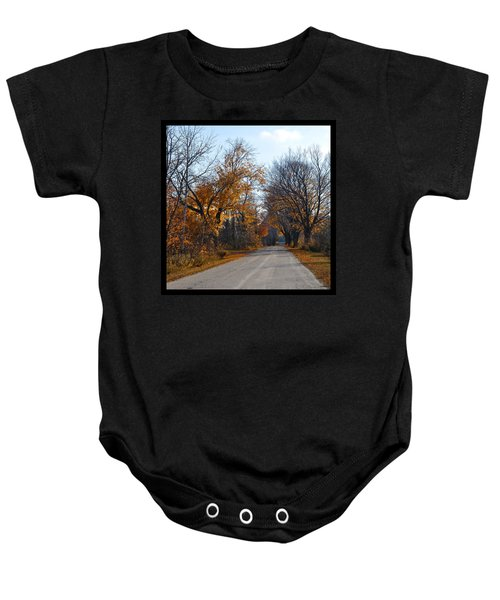 Quarterline Road Baby Onesie